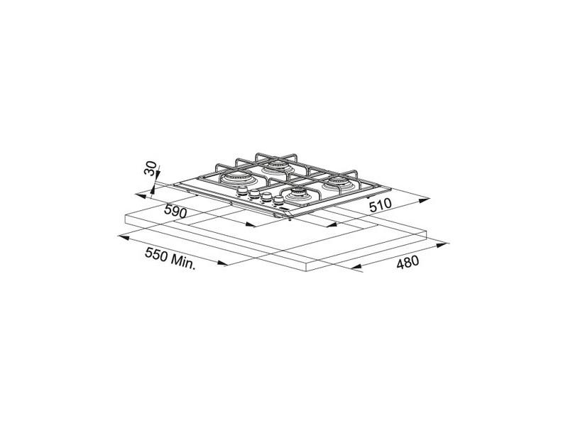 Варочная поверхность Franke FHMR 604 4G XS E (106.0049.038) в интернет-магазине