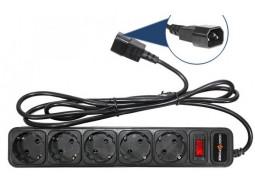 Удлинитель Logicpower LP-X5-UPS/2m