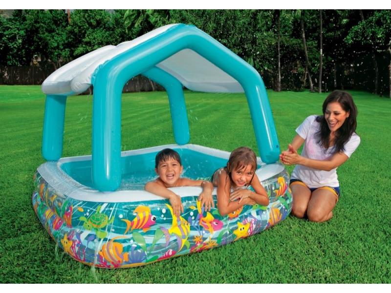 Надувной бассейн Intex 57470 недорого