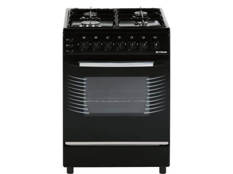 Комбинированная плита Fresh C63E5/01 black