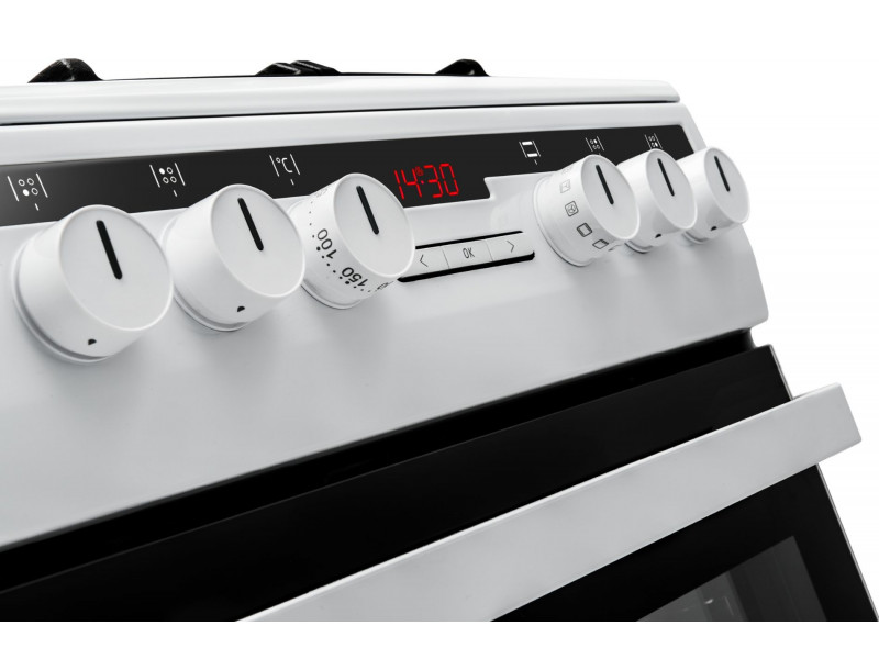Комбинированная плита Amica 57GE3.43HZpTaDNAQ(W) дешево