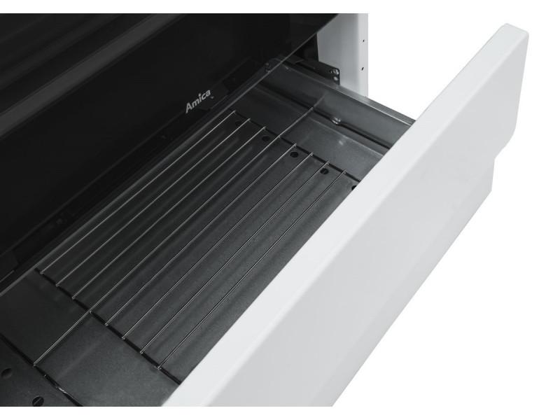 Комбинированная плита Amica 57GEH3.33HZPMS(W) в интернет-магазине