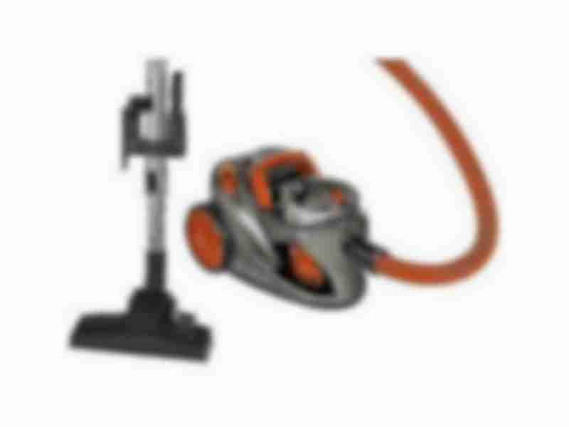 Пылесос безмешковый Clatronic BS 1294 Anthrazit/Orange