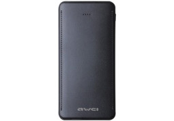 Powerbank аккумулятор Awei Power Bank P99k 10000 mAh Black