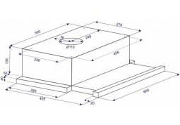Вытяжка  телескопическая Minola HTL 6010 WH 430 цена