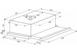 Вытяжка телескопическая Minola HTL 6060 I/BL Glass 430 недорого