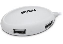 Картридер/USB-хаб Sven HB-401 (черный) в интернет-магазине