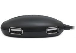 Картридер/USB-хаб Sven HB-401 (черный) стоимость