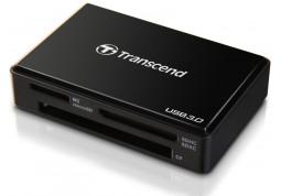 Картридер/USB-хаб Transcend TS-RDF8 (черный)