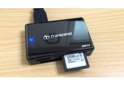 Картридер/USB-хаб Transcend TS-RDF8 (черный) описание