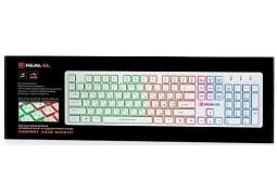 Клавиатура REAL-EL Comfort 7070 Backlit Black (EL123100018) стоимость