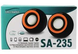 Компьютерные колонки Greenwave SA-235 (черный) купить