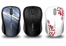 Мышь Rapoo Wireless Optical Mouse 3100P (черный)