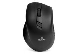 Мышь REAL-EL RM-300 (черный)