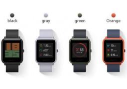 Умные часы Amazfit Huami  Bip (красный) купить