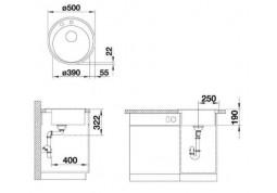 Кухонная мойка Blanco RIONA 45 (521400) фото