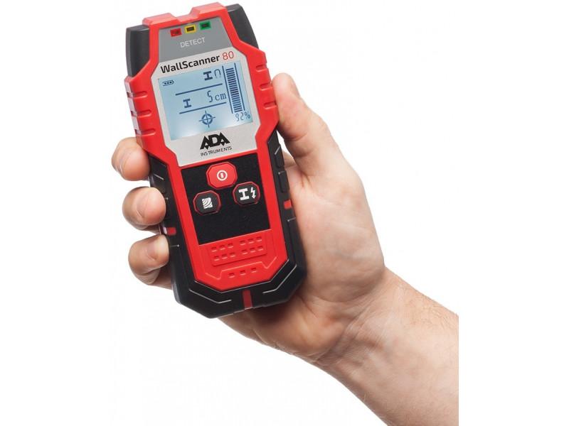 Детектор проводки ADA Wall Scanner 80 A00466 описание
