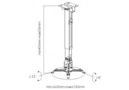 Крепление для проектора Brateck PRB-2G в интернет-магазине