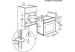 Духовой шкаф AEG BEB331110M купить