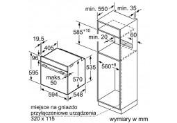 Духовой шкаф Siemens HB 334A0S0 купить