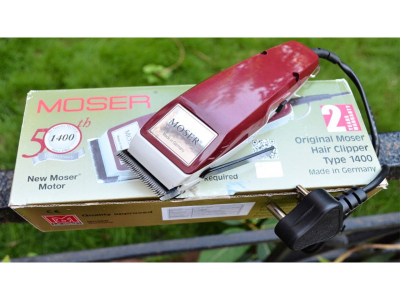 Машинка для стрижки волос Moser 1400-0050 Classic Red описание