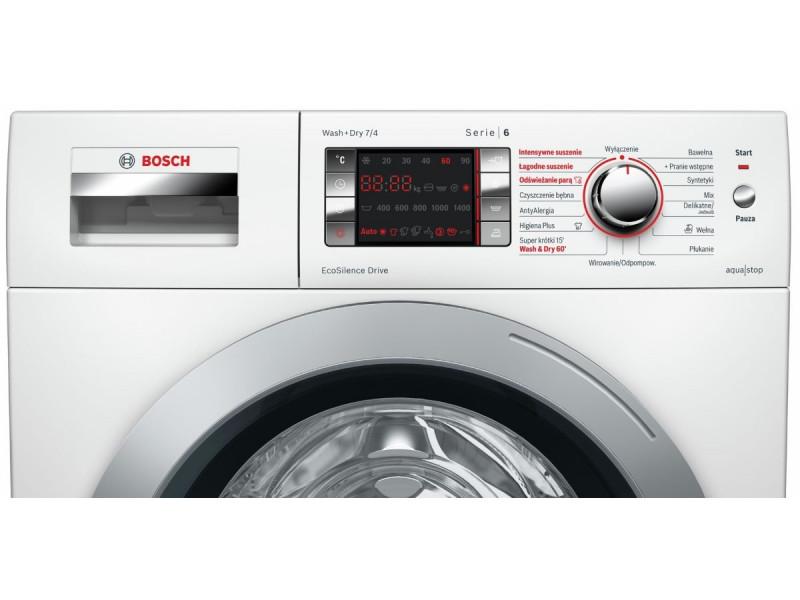 Стирально-сушильная машина Bosch WVH28420PL стоимость