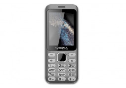 Мобильный телефон Sigma X-style 33 Steel Grey