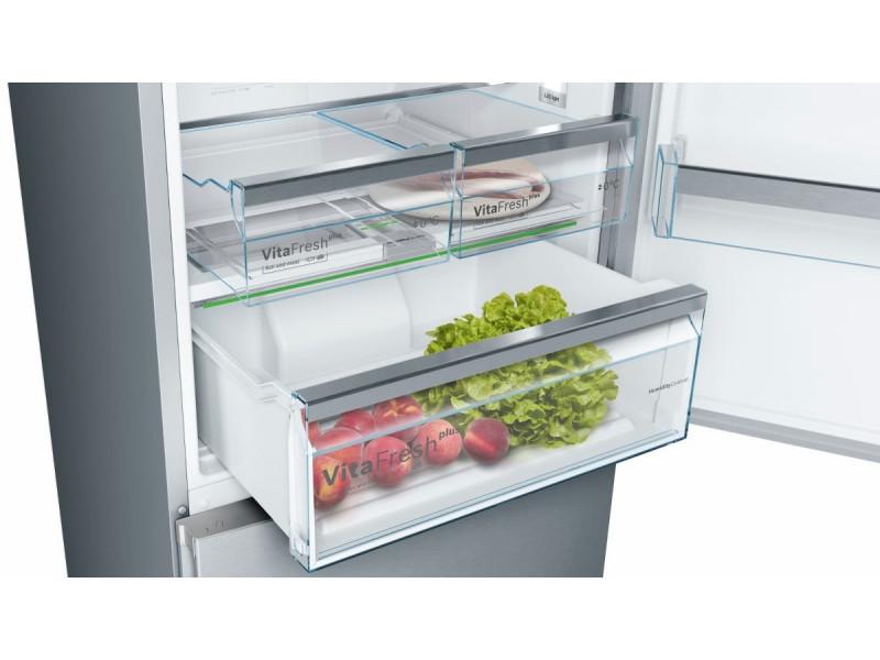 Холодильник Bosch KGN49MI3A нержавеющая сталь недорого