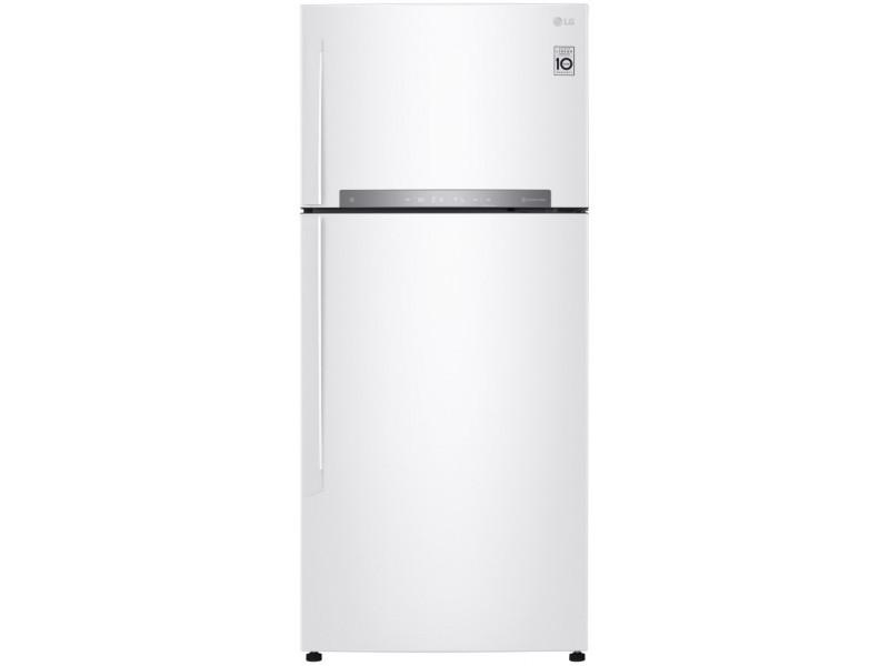 Холодильник LG GN-H702HQHZ белый