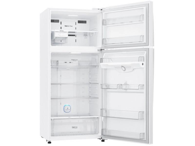 Холодильник LG GN-H702HQHZ белый цена