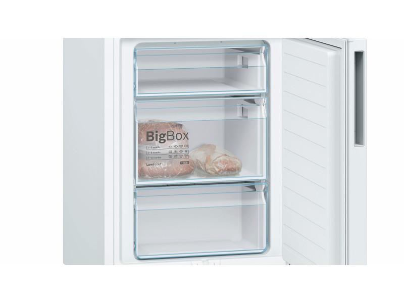 Холодильник Bosch KGV39VW396 белый купить