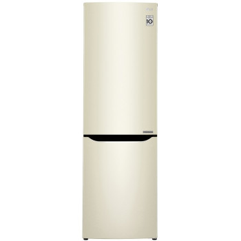 Холодильник LG GA-B419SYJL бежевый
