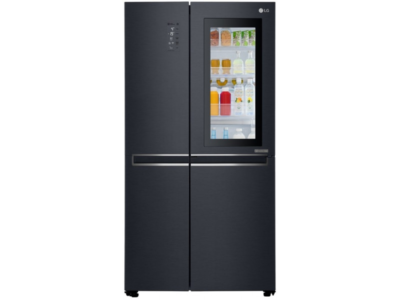 Холодильник LG GC-Q247CAMT черный цена