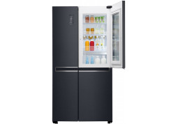Холодильник LG GC-Q247CAMT черный дешево