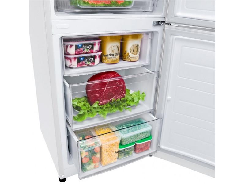 Холодильник LG GA-B499YQJL белый цена