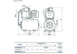 Насосная станция Sprut AUMRS 5/50L стоимость