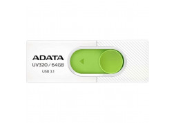 USB Flash (флешка) A-Data 64 GB UV320 White/Green (AUV320-64G-RWHGN)