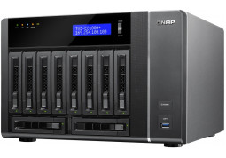 NAS сервер QNAP TVS-EC1080-E3 ОЗУ 8 ГБ