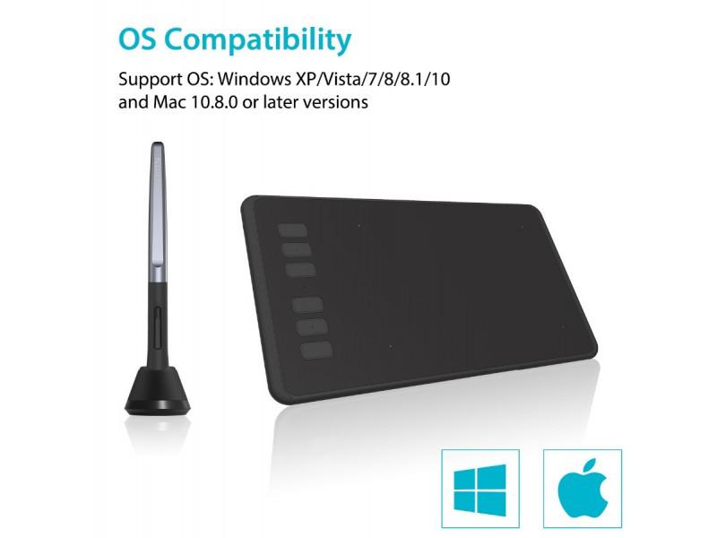 Графический планшет Huion H640P купить