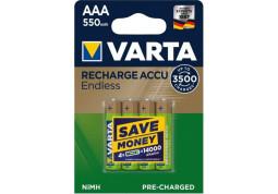 Varta Rechargeable Accu Endless  4xAAA 550 mAh