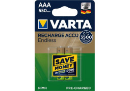 Varta Rechargeable Accu Endless  2xAAA 550 mAh