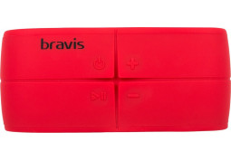 Портативная акустика BRAVIS BW08 Red в интернет-магазине