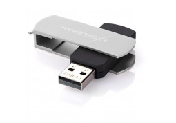 Флешка Exceleram 8 GB P2 Series Silver/Black USB 2.0 (EXP2U2SIB08) купить
