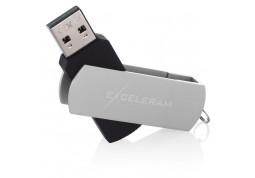 Флешка Exceleram 8 GB P2 Series Silver/Black USB 2.0 (EXP2U2SIB08) фото