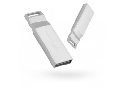 Флешка Exceleram 16 GB U2 Series Silver USB 2.0 (EXP2U2U2S16)