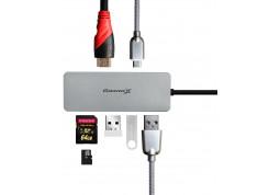 Картридер/USB-хаб Grand-X SG-512 фото