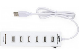 Картридер/USB-хаб Vinga HUB031S