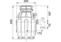 Измельчитель отходов Franke Turbo Elite TE-50 дешево