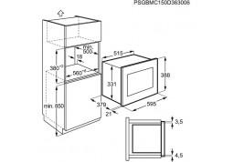 Микроволновка с грилем Electrolux EMT25203OK стоимость