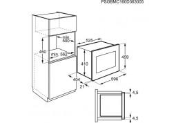 Микроволновка  AEG MBE 2658S M стоимость